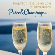 pesce e champagne